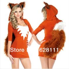 End of year prom dress fitted cat girl weasel performance clothing sexy uniforms role playing game system stage clothes(China (Mainland))