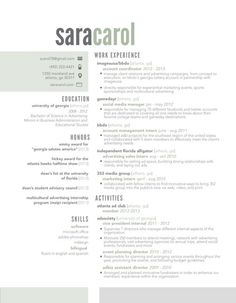 Resume Template  Page  Designer By The Resume Parlor On