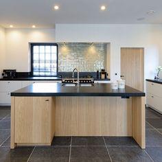 living room ideas – New Ideas Kitchen Dinning Room, Kitchen Decor, Rustic Kitchen Island, Contemporary Kitchen Design, House Inside, Danish Kitchen, Cuisines Design, Kitchen Interior, Fancy Houses