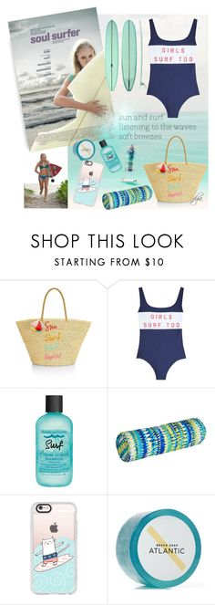 """Soul surfer- movie"" by dgia ❤ liked on Polyvore featuring Rebecca Minkoff, Zoe Karssen, Bumble and bumble, Improvements, Casetify and Baxter of California"