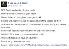 Spoilers of Season 5 Episode 3 from New York Comin Con ( 9 October 2015)