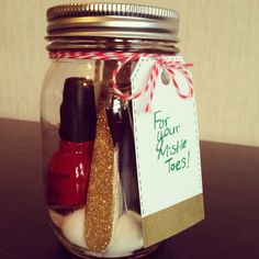 DIY Christmas presents ... Or for the whole year. Don't have to have a reason to…
