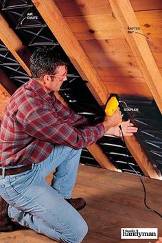 The Best Way to Finish an Attic – Family Handyman – Diy Insulation Sheets, Rigid Foam Insulation, Attic Rooms, Attic Spaces, Attic Loft, Finished Attic, It Is Finished, Attic Remodel, Garage Remodel