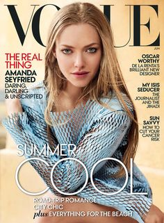 Amanda Seyfried's June 2015 Vogue cover is here! Read more on Vogue.com.