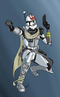 Galactic civil war ARC trooper Ghost by Smackadoodledoo on DeviantArt