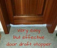 I was planning do make a door draft stopper for a long time, but the remix and the winterize contest were my starters' gun - finally. I found the http://www.instructables.com/id/Wonderful-World-Draft-Stopper/ and the http://www.instructables.com/id/Draft-Stopper-for-drafty-doors/instructables, but: I don't have a sewing machine, so I started to think about something very easy. :o)Here is my idea: