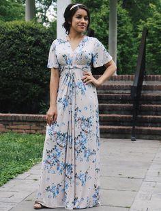 aura rose summer collection. Isabeau maxi dress