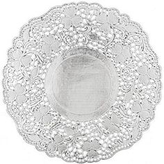 Silver Paper Doilies 10 5 Inch