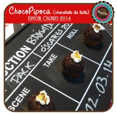 Brigadeiro Choco Popcorn - Oscar 2014