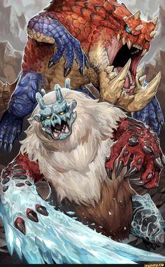 Monster Hunter Series, Monster Hunter Art, Darkest Dungeon, Monster Design, Warhammer 40000, Large Animals, Fauna, Cute Characters, Concept Art
