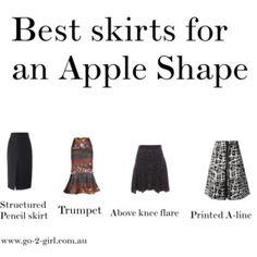 Best skirts for an Apple Shape
