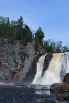 Tettegouche State Park in Silver Bay, Minnesota has great rock climbing opportunities.