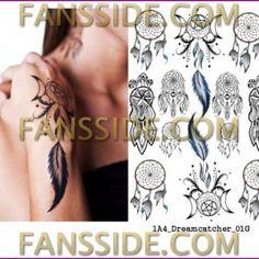 Dreamcatcher – One Night Tattoo – Ideiglenes Tetoválás 1db A4-es lapon