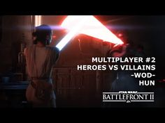 Star Wars Battlefront 2 Multiplayer #2 | Heroes vs Villains | -WoD- | HUN