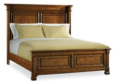 Tynecastle Queen Panel Bed by Hooker Furniture