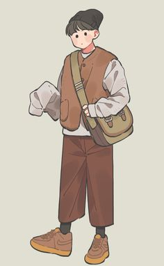 Boy Illustration, Character Illustration, Cartoon Kunst, Cartoon Art, Different Drawing Styles, Chibi, Korean Art, Boy Art, Character Drawing