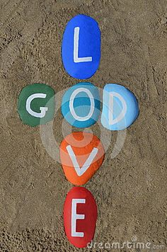 Download God Is Love, Multicolored Stones Composition Royalty Free Stock Image for free or as low as 0.68 lei. New users enjoy 60% OFF. 22,037,231 high-resolution stock photos and vector illustrations. Image: 38489526