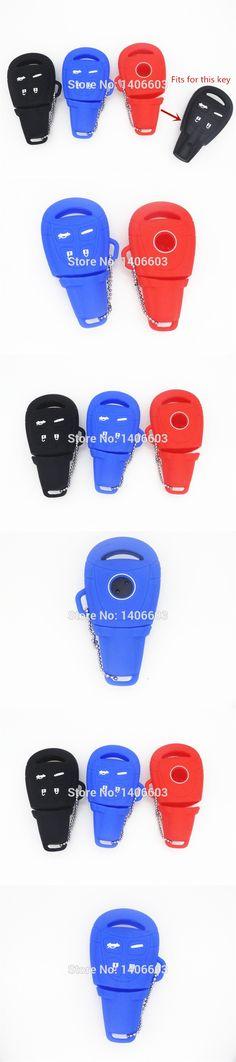 1pc Silicone carkey cover case For SAAB 9-3 9-5 93 95 Key  Remote car key shell case fob blank housing
