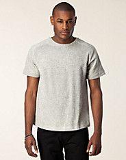 Levin Tee - Won Hundred - Grå melange - T-shirts - Kläder man - NELLY.COM