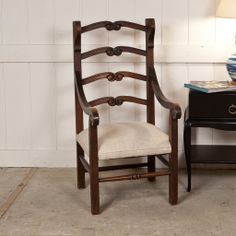Antique Spanish Colonial Chair | Treillage
