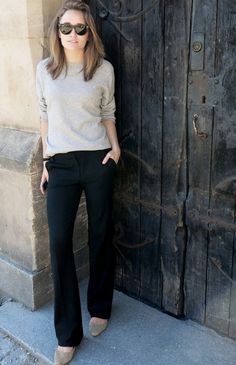 97 Best and Stylish Business Casual Work Outfit for Women - Biseyre Style Casual, Casual Work Outfits, Business Casual Outfits, Mode Outfits, Business Attire, Office Outfits, Work Attire, Work Casual, Casual Work Outfit Winter