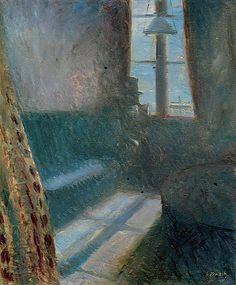 Edvard Munch, Night in St. Cloud (1890). - Google Search