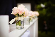 Blush Roses. Blush wedding decor. Tina Liv Photography