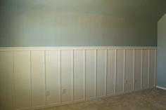 Multipurpose Room Progress: Board and Batten! www.decorchick.com
