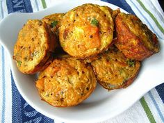 Stacey Snacks: Good Morning: Sweet Potato Goat Cheese Egg Muffins
