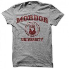 Mordor University t shirt. One does not simply graduate... #lotr
