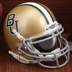 Schutt Baylor Bears Authentic Mini Helmet - Gold $25.95
