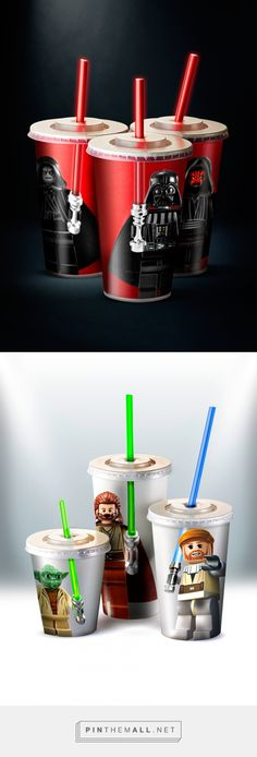 Drink The Force concept design by Christian Rivera - http://www.packagingoftheworld.com/2016/10/drink-force-concept.html