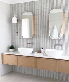 Home Interior Wood Super slim shaker cabinet.Home Interior Wood Super slim shaker cabinet Diy Bathroom, Bathroom Renos, Bathroom Faucets, Small Bathroom, Master Bathroom, Washroom, Bathroom Remodeling, Bathroom Ideas, Bathroom Lighting