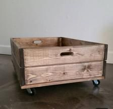 Diy Storage Crate, Storage Boxes, Shoe Storage, Small Bedroom Storage, Under Bed Storage, Rolling Underbed Storage, Underbed Storage Ideas, Wood Crates, Wooden Boxes