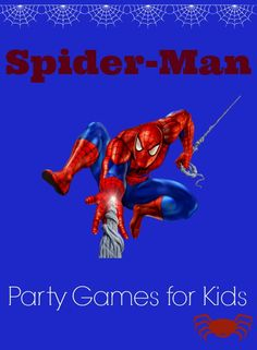 Looking for some fun Spider-Man party games for kids for your super hero party? Check out our list of easy, exciting games for kids to play during party
