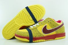 lobster nike dunks yellow