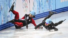The final for the men's short track 1000m competition took place on Feb. 15 at Sochi's Iceberg Skating Palace. Russia claimed the two top spots.