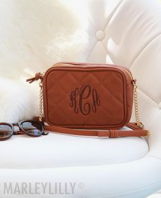 e03d7d8ae3 Monogrammed Crossbody Clutch - Shop Custom Quilted Purses