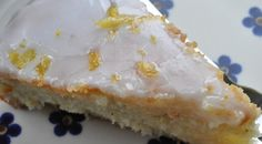 Lemon cake - spongy and delicious. Danish Dessert, Danish Food, Er 5, Baking With Kids, No Bake Cake, Love Food, Delicious Desserts, Cake Recipes, Sweet Tooth