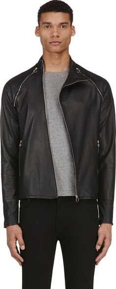 In Spite Of The Fact That I'd Probably Kill Myself If I Ever Rode A Motorcycle, I Do Love The Lines Of Biker Jackets.