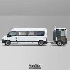 VANLIFER Conversions - Here is a design we developed for a tow-able bathroom, as sometimes you just dont have the space in a camper for all these facilities. Transit Camper, Bus Camper, Camper Life, Camper Trailers, Van Conversion Campervan, Kangoo Camper, Custom Camper Vans, Minivan Camping, Kombi Home