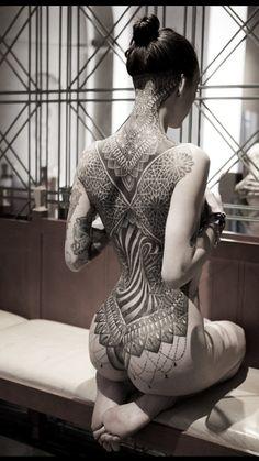 Glenn Cuzen Dot Work Tattoo - AMAZING!!!