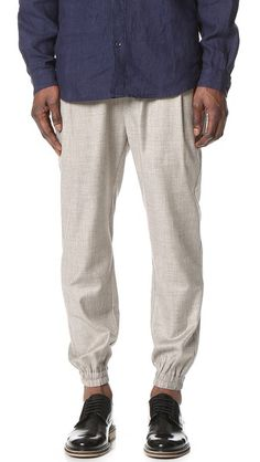 Shades of Grey by Micah Cohen Pleated Joggers