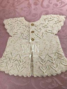 Knitting patterns, knitting designs, knitting for beginners. Diy Crafts Knitting, Knitting For Kids, Knitting For Beginners, Baby Knitting Patterns, Knitting Designs, Crochet Patterns, Baby Outfits, Baby Girl Dresses, Crochet Poncho