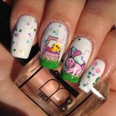 Easter Nails! c;