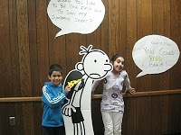 Diary of a Wimpy Kid library party ideas.