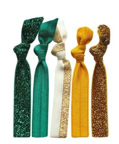 Glitz Spirit Hair Tie 5 Pack - Oregon Ducks,Univ.Alaska,