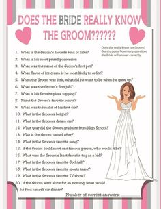 Find the Guest, Bridal Shower Game, Sexy Bride, Ice Breaker Game ...
