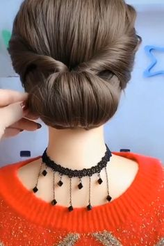 Easy Hairstyles For Long Hair, Up Hairstyles, Braided Hairstyles, Bridal Hair Buns, Hair Upstyles, Long Hair Video, Hair Videos, Hair Designs, Hair Hacks