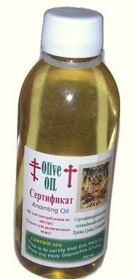 Jerusalem Holy Seplechur Anointing Oil by Church of the Holy Seplechur. $11.00. Blessed and Sanctified Holy Anointing Oil From The Holy Seplechur in Jerusalem For Use in Sacraments of Holy Unction and Baptism Performed by a Priest. Also for Sick Visitation Used by Priest or For Use for Anyone Sick or That Needs Help. This is from the Holiest of Holies. Also give to the Church as a Gift For Use In Religious Feast Days. This is from the Holy Seplechur, we only cover s...